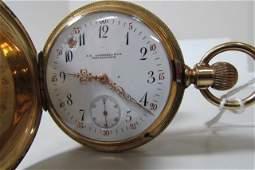 VACHERON CONSTANTIN 18K GOLD POCKETWATCH 1884