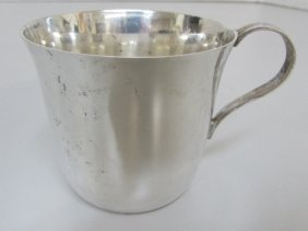 Tiffany & Co Baby Cup Sterling Silver 81 Grams