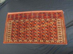 Antique Bokhara Rug Runner Carpet 2x4 Handmade