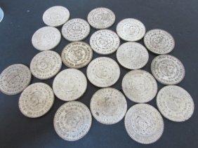 20 Silver Pesos 1959 -1964 Mexico Coins
