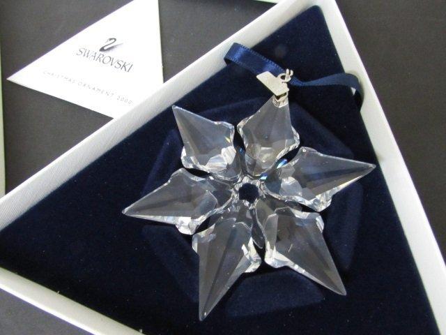 2000 SWAROVSKI CRYSTAL CHRISTMAS ORNAMENT NIB - 3