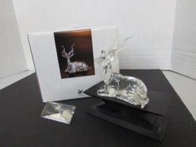 1994 Swarovski Crystal Kudu Inspiration Africa Mib W Pl