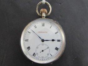 Kensington London Sterling Silver Pocketwatch