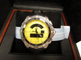 Tag Heuer Watch Aquaracer Chronograph Nib