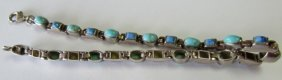 Neal Pacquin Turquoise Bracelet Sterling Silver