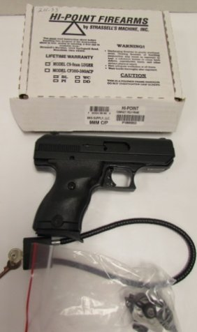 Hi-point C9 9mm Handgun Pistol New In Box