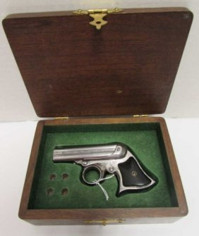 Remington Elliot Derringer 32rf Pepperbox Pistol W Box