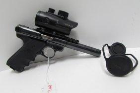 Ruger 22 Cal Mark Iii Pistol & Bsa Scope