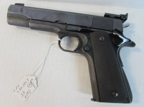 Colt .45 Government Model Automatic Handgun Gun