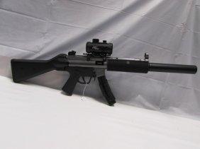 Gsg-5 German 22 Cal Mp5 Style Rifle Ex. Mag Scope