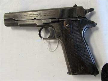 COLT 1911 US ARMY 45 GUN & HOLSTER