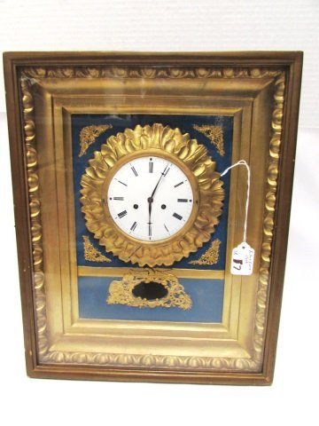 PICTURE FRAME CLOCK TIME & STRIKE