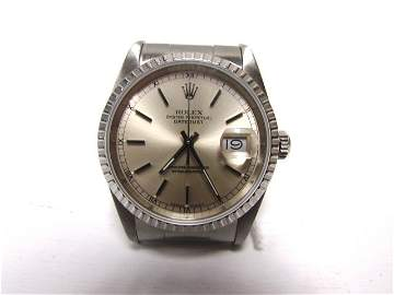 ROLEX DATEJUST MODEL STAINLESS 16220