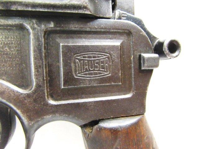 MAUSER BROOM HANDLE PISTOL  & CASE 7.63x25 - 5