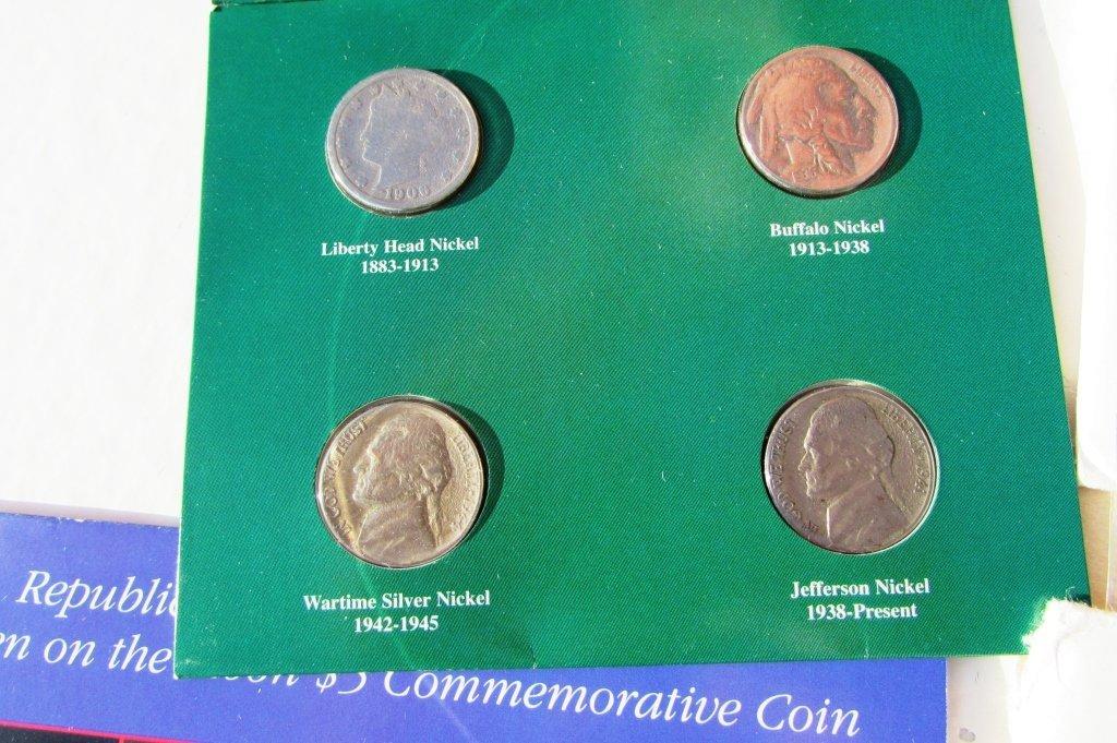 COIN LOT PROOF SETS SILVER NICKELS COMMEM MINT UNC - 3