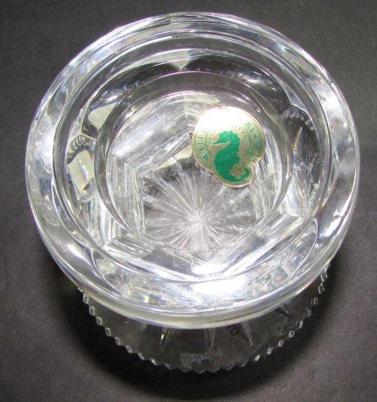 WATERFORD CRYSTAL HURRICANE LAMP  ALANA VOTIVE 2PC - 3