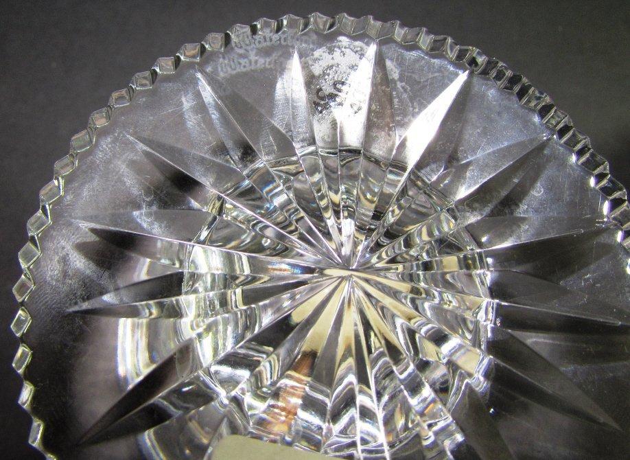 WATERFORD CRYSTAL HURRICANE LAMP  ALANA VOTIVE 2PC - 6