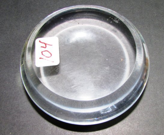 CARTIER PAPERWEIGHT MAGNIFYING GLASS SIGNED - 2