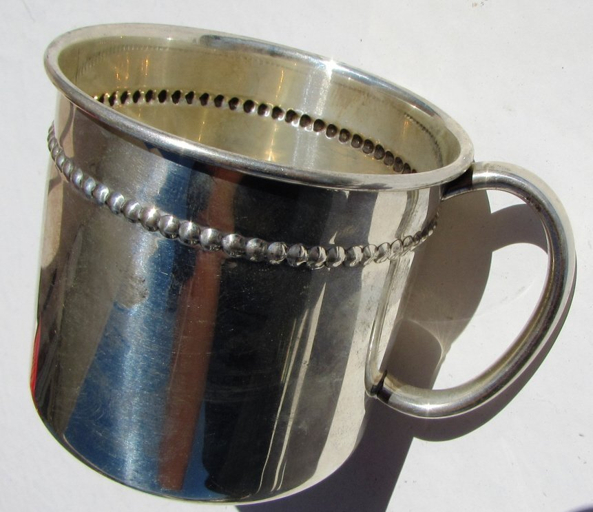 STERLING SILVER BABY CUP REED & BARTON 70 GRAM