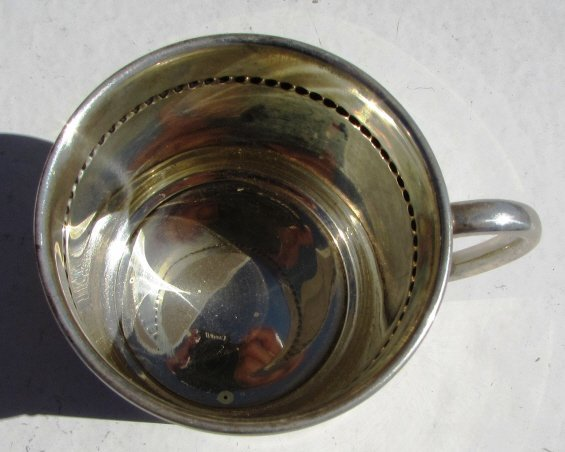 STERLING SILVER BABY CUP REED & BARTON 70 GRAM - 2