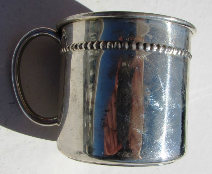 STERLING SILVER BABY CUP REED & BARTON 70 GRAM - 3