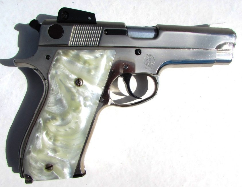 SMITH & WESSON 539 9mm PISTOL PEARL IN BOX - 2