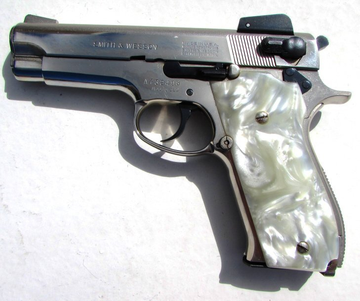 SMITH & WESSON 539 9mm PISTOL PEARL IN BOX - 3