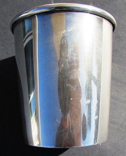 GORHAM STERLING SILVER MEASURING CUP BARWARE SHOT - 3