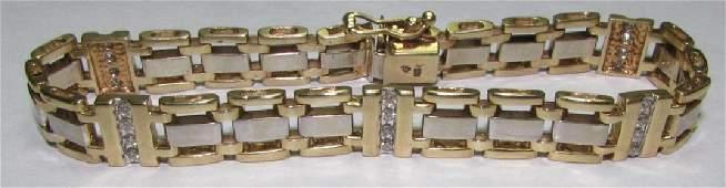 50CT DIAMOND BRACELET 14K GOLD 25 GRAM 825