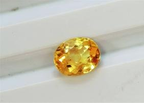 1.59ct Oval Shape Imperial Topaz