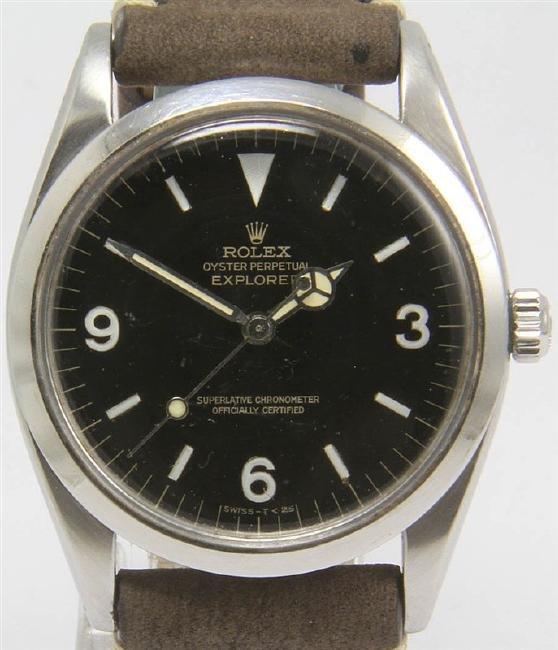 Pre-owned Rolex Explorer