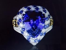 GIA 8.21CT CEYLON BLUE SAPPHIRE(COLOR CHANGE NO HEAT)