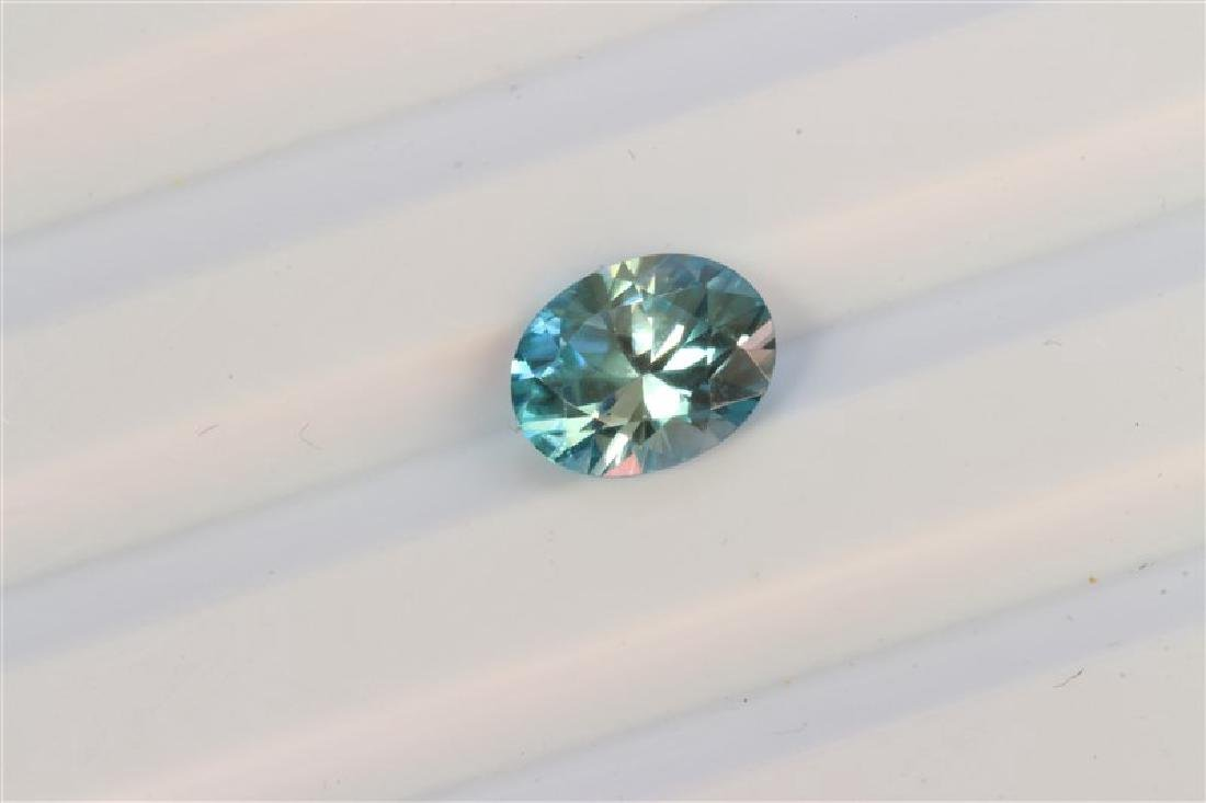 2.46ct Oval Shape Blue Topaz Dimension-9x7x4.5