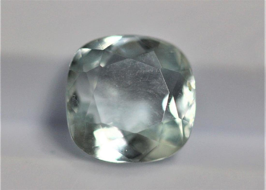 2.82ct Cushion Cut Aquamarine