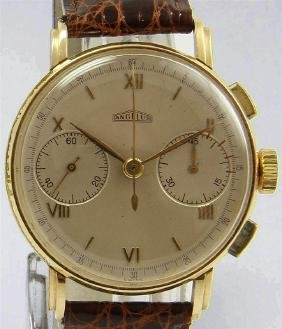 Pre-owned ANGELUS classical chronograph