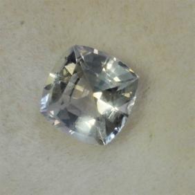 0.55ct Cushion Cut White Sapphire