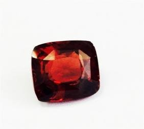 2.81ct Cushion Cut Natural malaya garnet