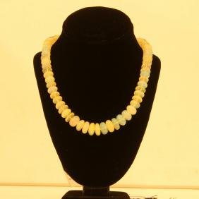 108ct Ethiopian Opal Beads Necklace