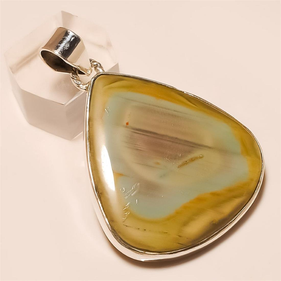 imperial jasper Pendant Solid Sterling Silver