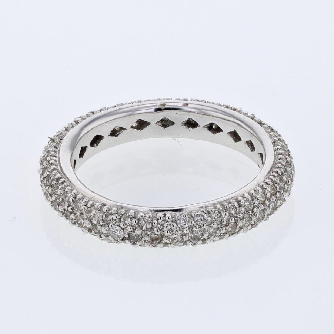 1.16ct Diamond 14K White Gold Ring