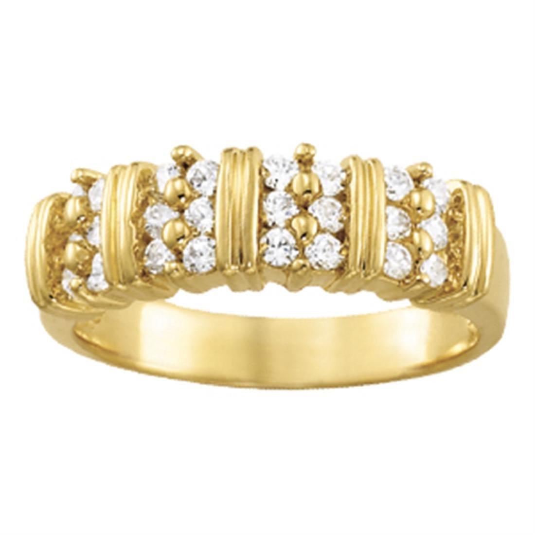 14kt gold 5.86 gram Wedding Bands/Bar Set