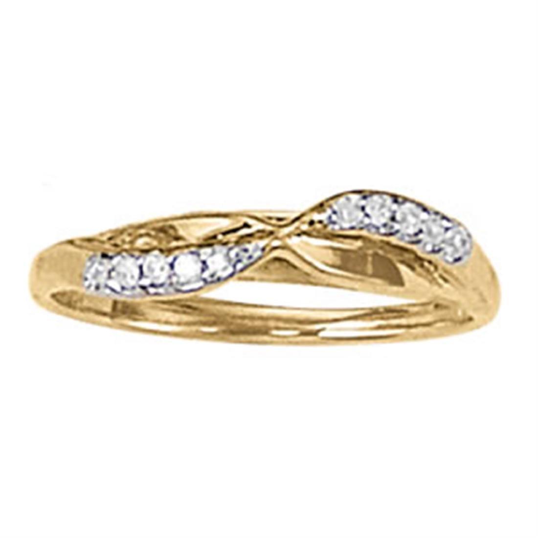 14kt gold 2.34 gram Wedding Bands/Curved Bands