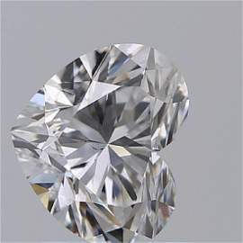 GIA/Heart/D/SI1/1.01ct