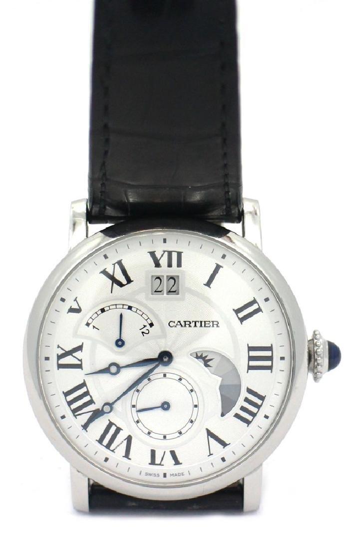 Cartier ROTONDE DE LARGE DATE, RETROGRADE SECOND TIME