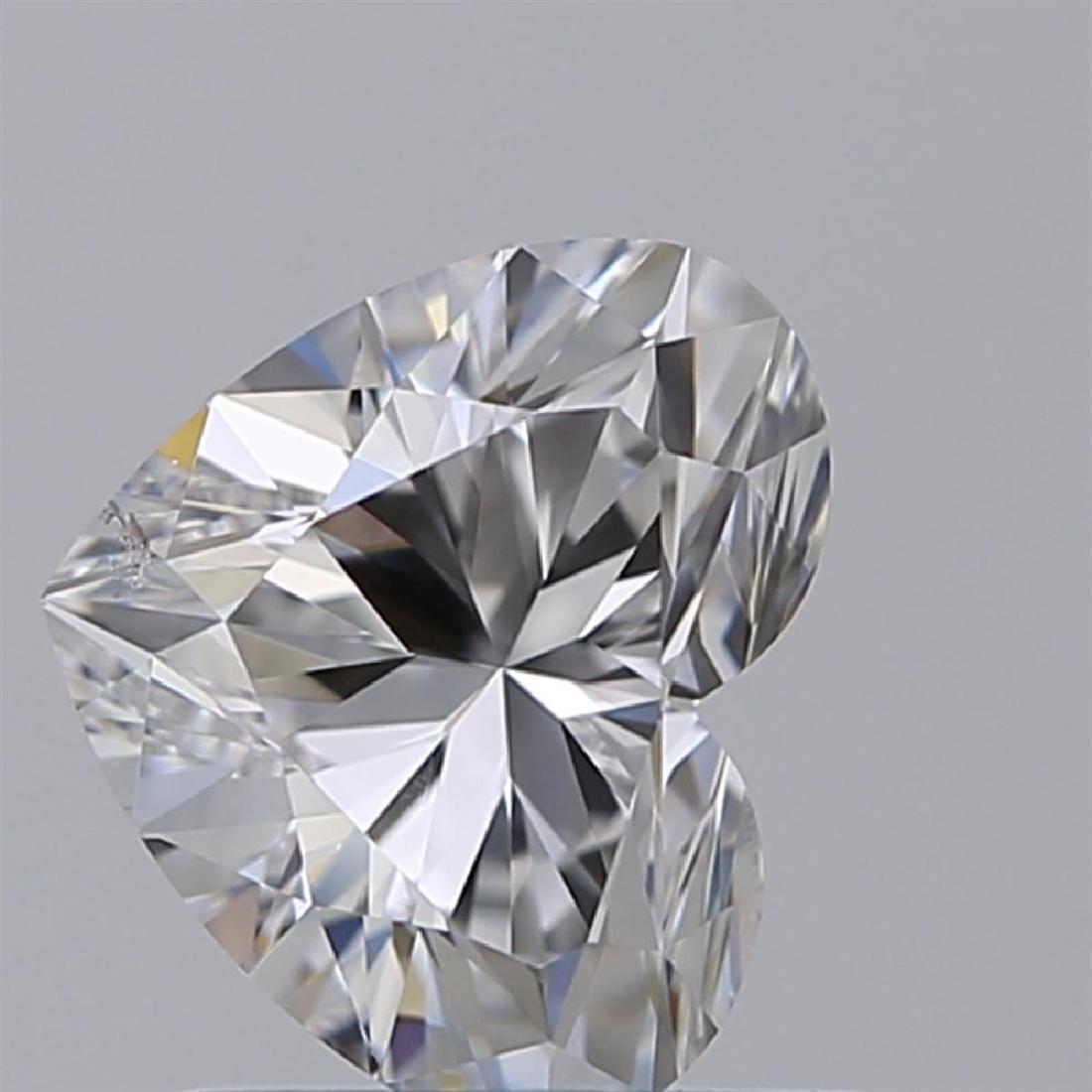 GIA/Heart/D/SI2/0.9ct