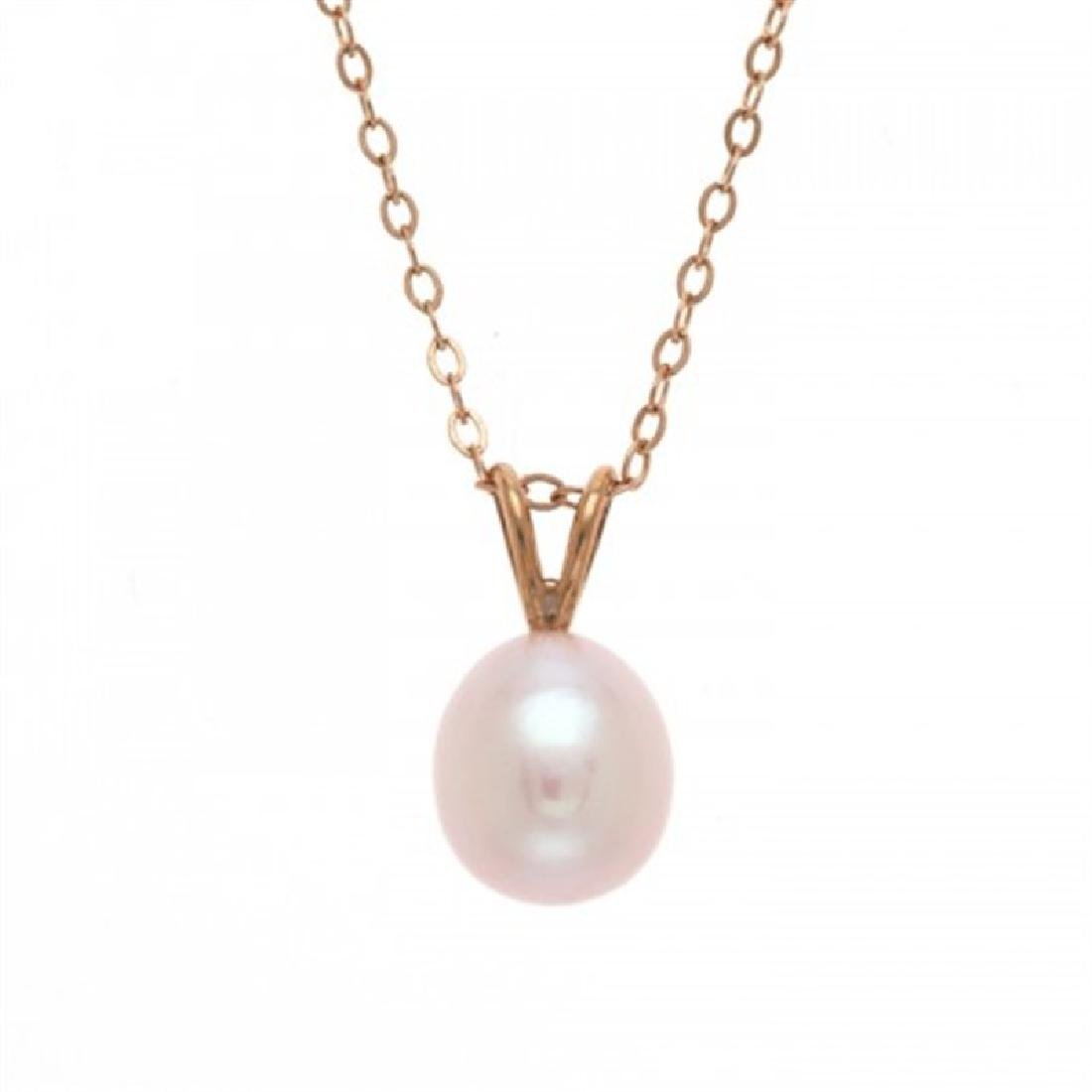 8.0-8.5mm Freshwater Pearl Pendant