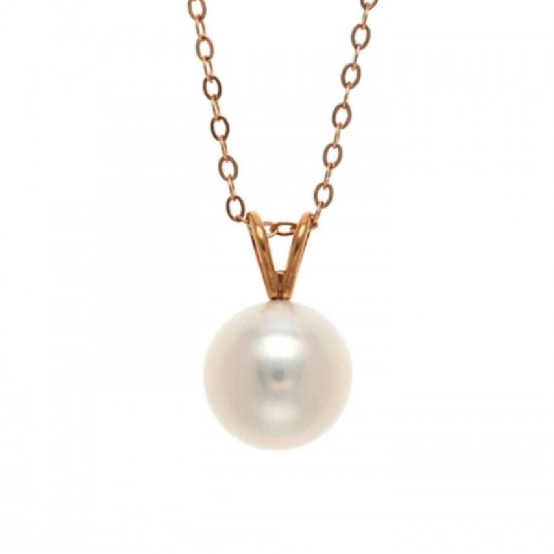10.0-10.5mm Freshwater Pearl Pendant