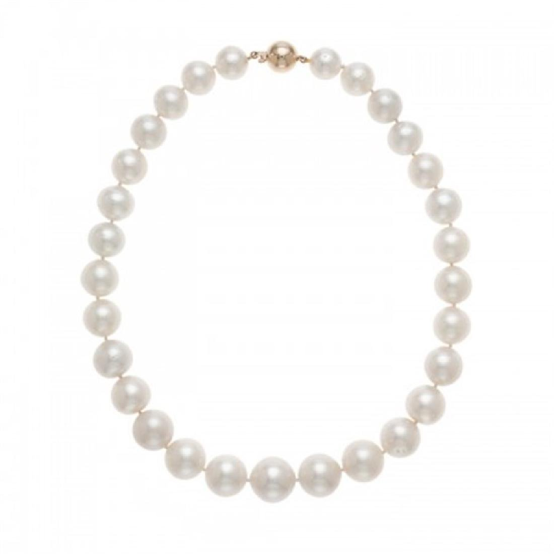 12.0-16.6mm Graduated South Sea Pearl Necklace