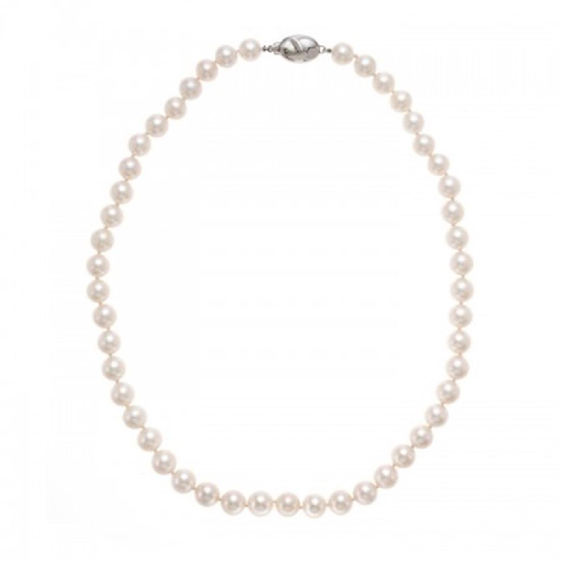8.5-9.0mm Chinese Akoya Pearl Necklace