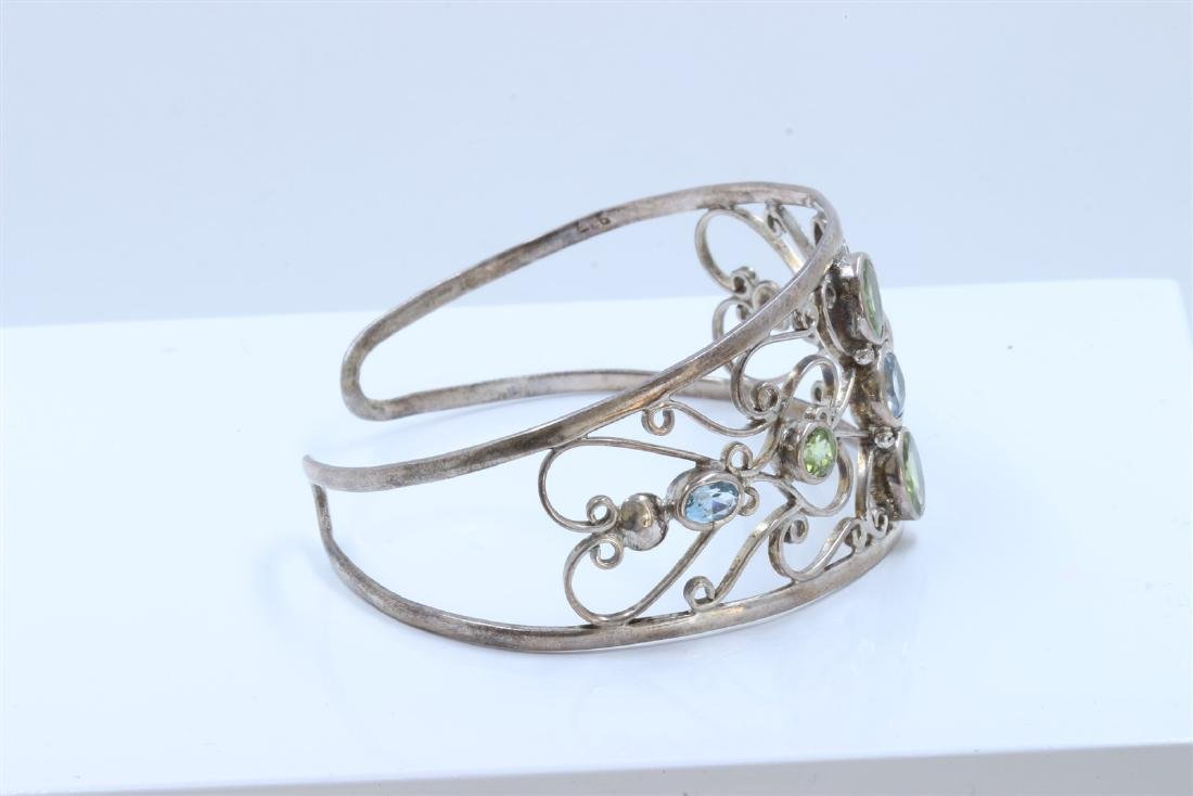 Sterling Silver .925  with Cuff Bangle 21.92 gram